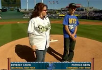 Royals Honor Family of Fallen Soldier