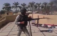 Iraqi Soldiers in Heavy Firefight with Daash