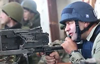 Russian Actor Fires on Ukrainian Army