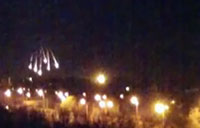 Incendiary Shells Rain Down on Donetsk Airport
