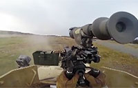Go Pro Footage of .50 Caliber Machine Gun Fire