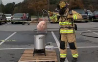 How NOT to Fry a Turkey!