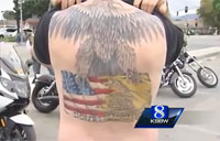 Veterans Show off Military Themed Tattoos