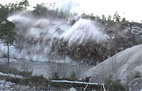 Detonating 25 Tons of Explosives
