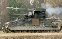 Army M2A3-M3A3 IFV TOW Missile Live Fire