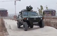 The Wolf 4x4 Light Armored Off-Road Vehicle