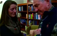 Family Hears Son's Heartbeat in War Vet