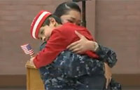 Military Mom Surprises Son for the Holidays