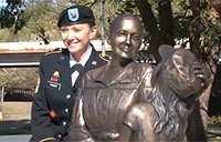 City Honors Women Veterans with Monument
