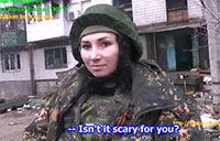 Interview with Female Militia Member in Ukraine