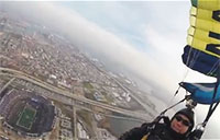 Leap Frogs Crash 2014 Army-Navy Game