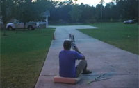 Long Distance Shooting with a Vertical Crossbow