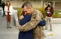 Military Father Grants Daughter's Christmas Wish