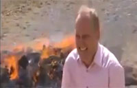 Reporter Gets High Next to Burning Heroin