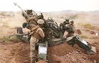 Marines Conduct Fire Support