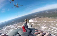 82nd Airborne's Last C-130 Jump of 2014