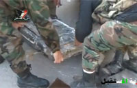 Syrian Security Forces Dismantle ISIS Car Bomb