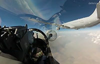 E-7A Wedgetail Operating Over Iraq