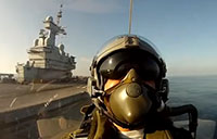 Catapult Launch from Inside Rafale Fighter!