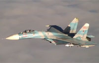 Real of Fake? Russian Su-27 Intercepts P-3
