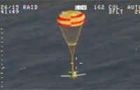 Small Plane Saved by Parachute Off Hawaii