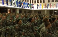 Fort Leonard Wood Trainees Sing Katy Perry