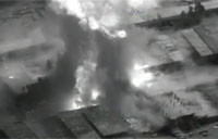 Jordanian Air Strike on ISIL Facility Pt. 1