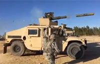 Paratroopers Fire TOW Missile!