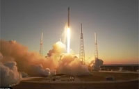 SpaceX Launches Mission for U.S. Air Force
