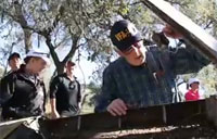 Navy Pilot Visits Wreckage 57 Years Later