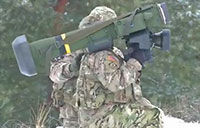 2CR and Latvian Forces Fire Javelin Missile