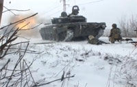 Russian Troops Ambushed in Debaltseve