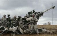 U.S. Troopers Live-Fire M777 Howitzer!
