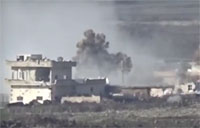 Syrian Army Hammers Rebel Positions