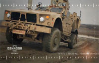 Army Contracts Oshkosh to Reset M-ATV