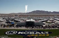 Thunderbirds Flyover at Kobalt 400