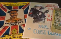WWI Era Posters at the Air Force Museum