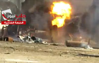 Rebels Attack Gas Plant with Hell Cannon