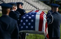 US Air Force Honor Guard Body Bearers
