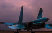 SU-34 Bomber vs. SU-27 Fighter: Part 3