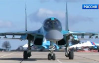 SU-34 Bomber vs. SU-27 Fighter: Part 1