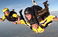 Golden Knights Tandem Jump After 5 Year Hiatus