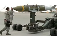 Airmen Build Bombs to Drop on ISIL