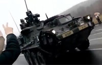 US Army Convoy in the Czech Republic