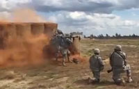 Paratrooper Live Fire Exercise at Fort Bragg