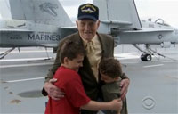 Twins Surprised by their World War II Hero