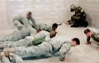 Gas Chamber Pushup Contest!