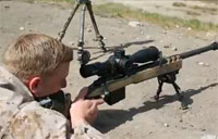 Scout Snipers Fire Machine Guns, Sniper Rifles