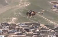 New Afghan Attack Helicopter in Action