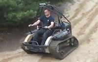Ripchair 3.0 Tearing it up in Sand Dunes